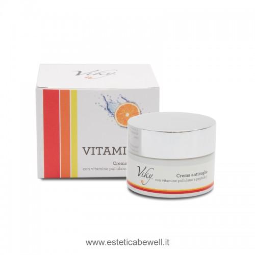 Crema Antirughe con Vitamine Pullulano e Peptide 5