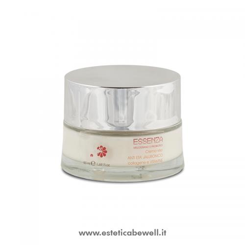 Crema Anti-Età Jaluronico Collagene Vitamine - Essenza